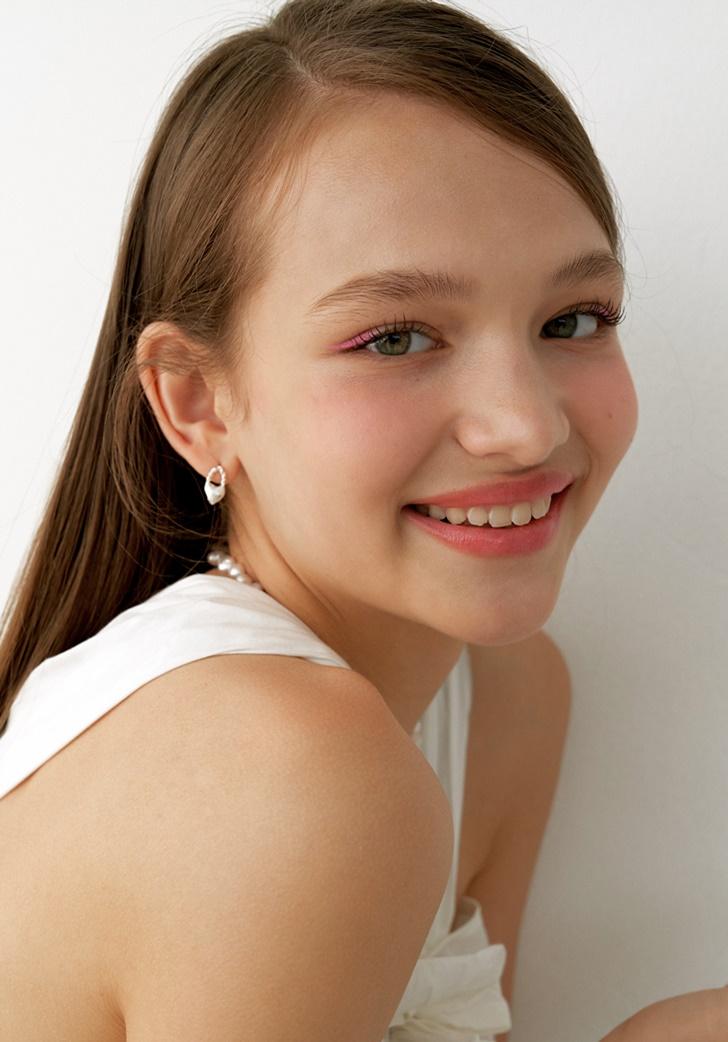 [이사배 착용] my heart lock earring (silver 925)
