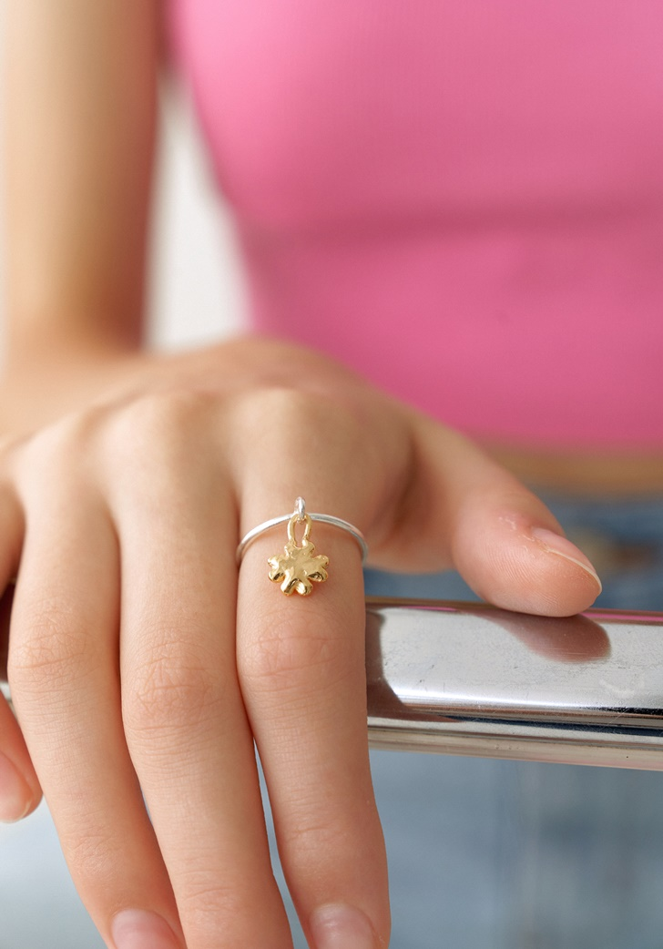 my clover ring (silver 925)