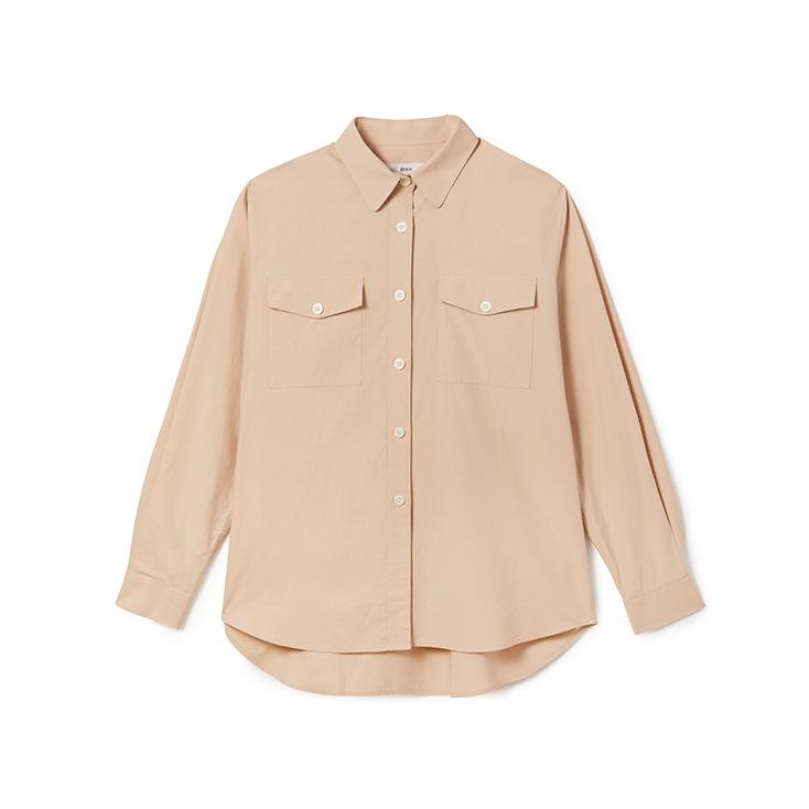 Two Pocket Beige Shirt
