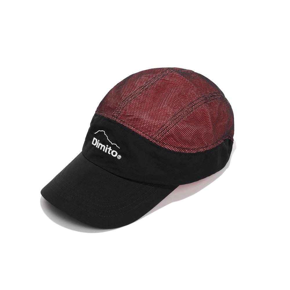 MESH 2L CAMP CAP PINK