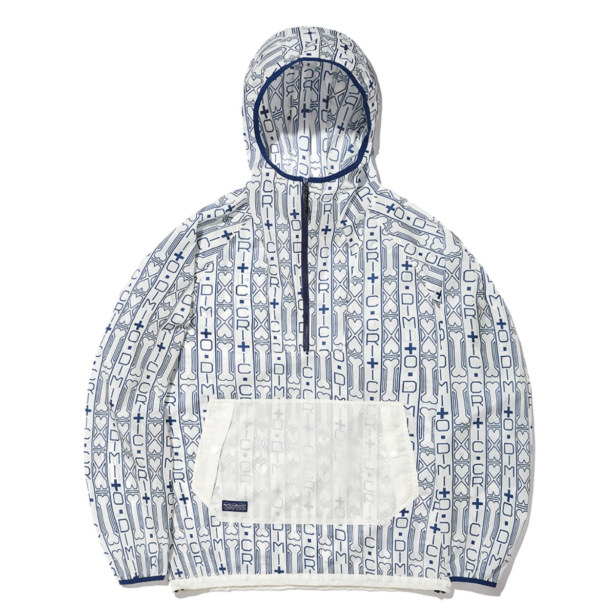 CRT PULLOVER WIND (DIMITO X CRITIC) JACKET CLEAR WHITE