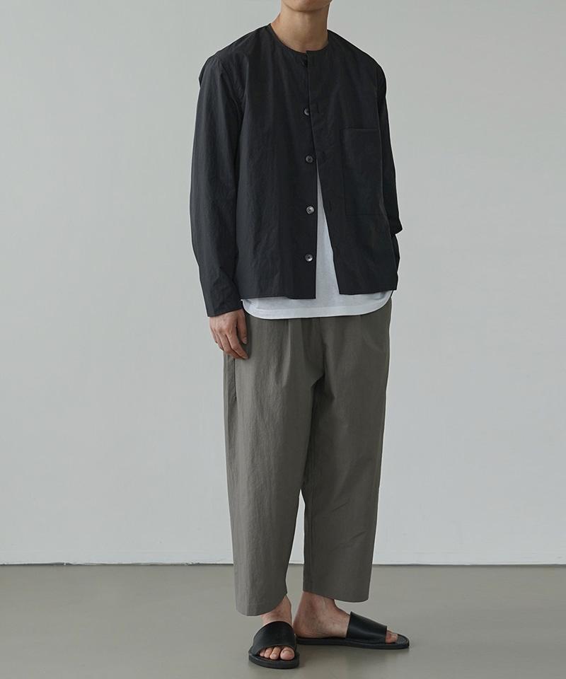 유니스 라운드 셔츠 자켓