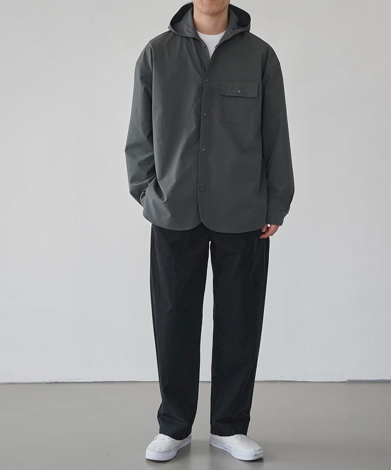 웨어러블 후드 셔츠 자켓