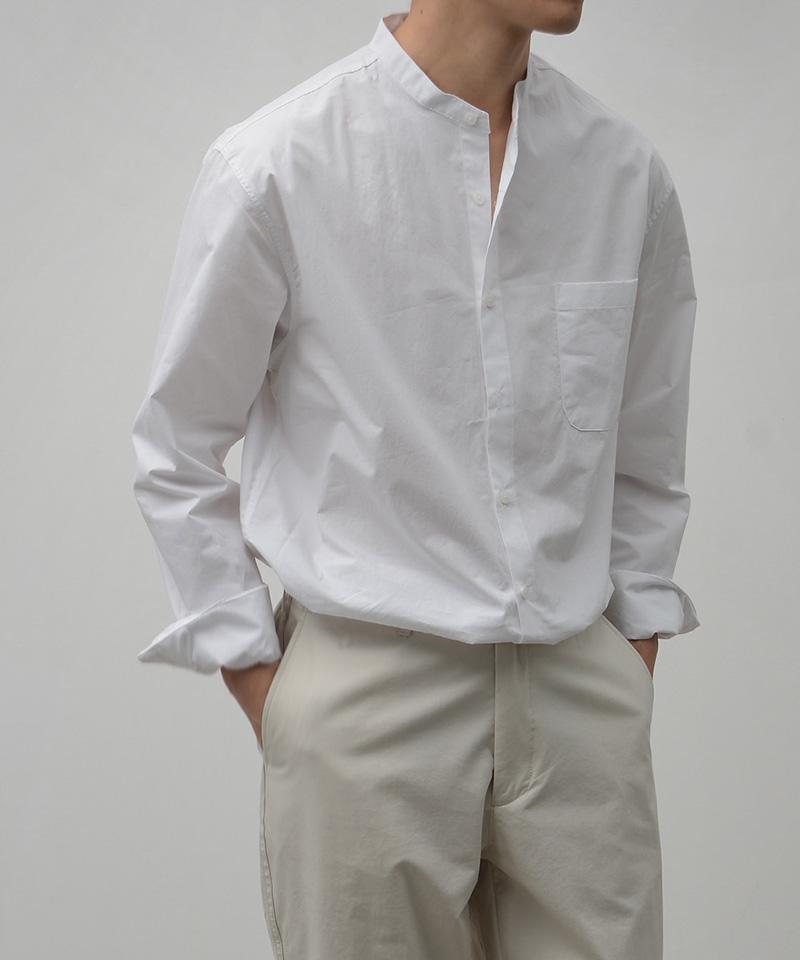 크런치 코튼 차이나 셔츠