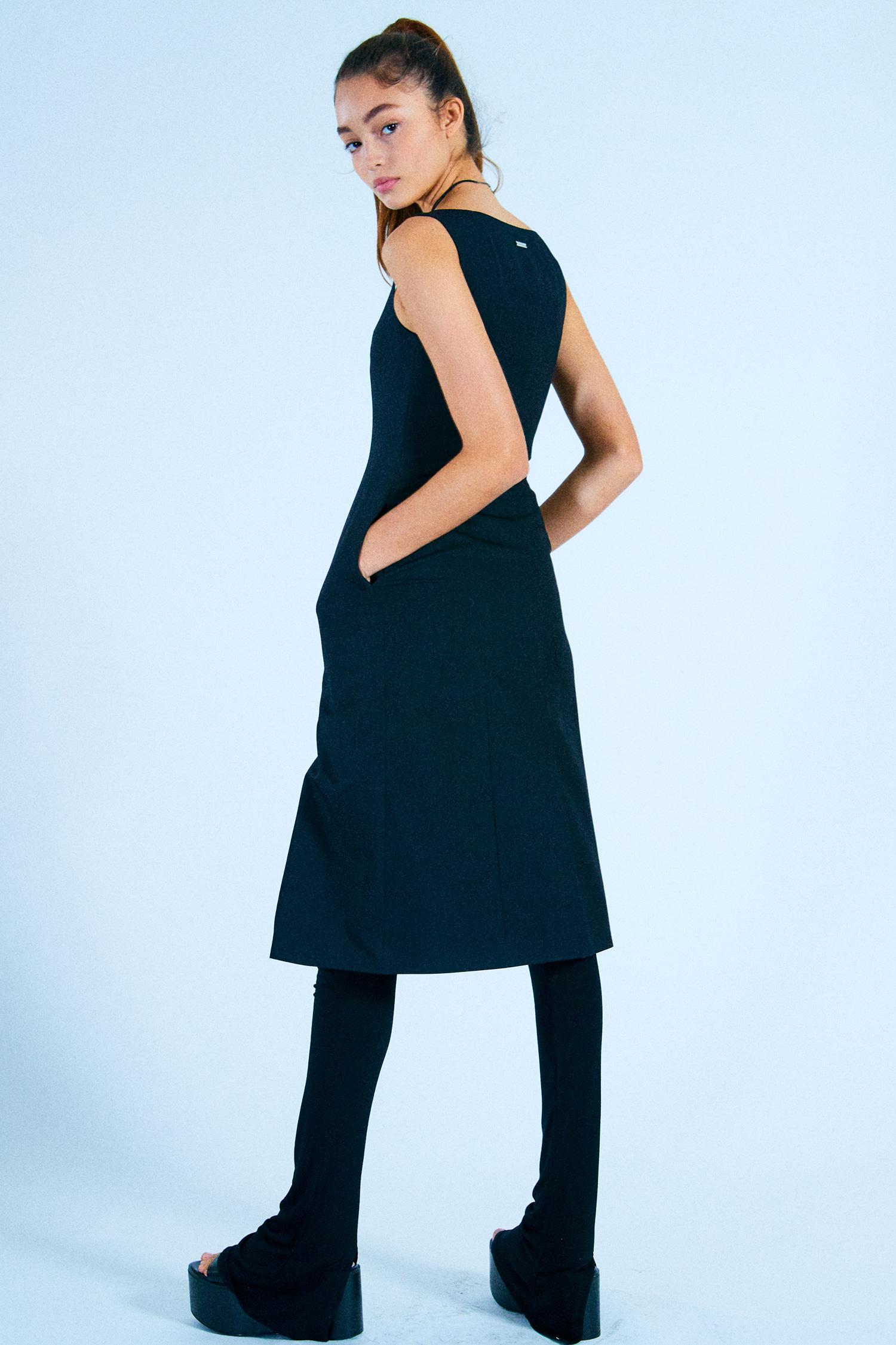 MARICA LONG DRESS_BLACK