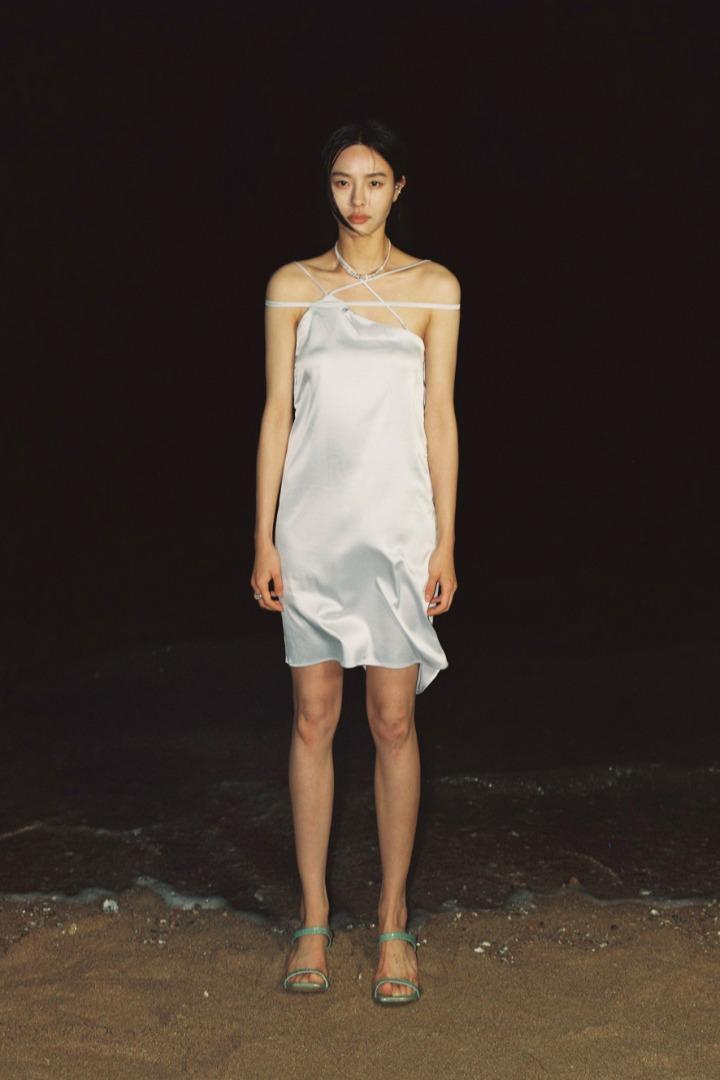 MULTI WAY SHEEN DRESS