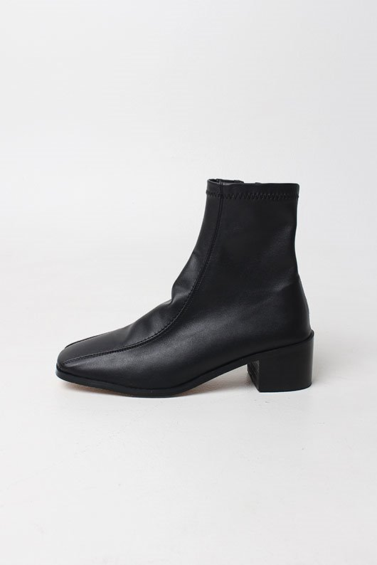 SQUARE MIDDLE BOOTS (4 COLOR)