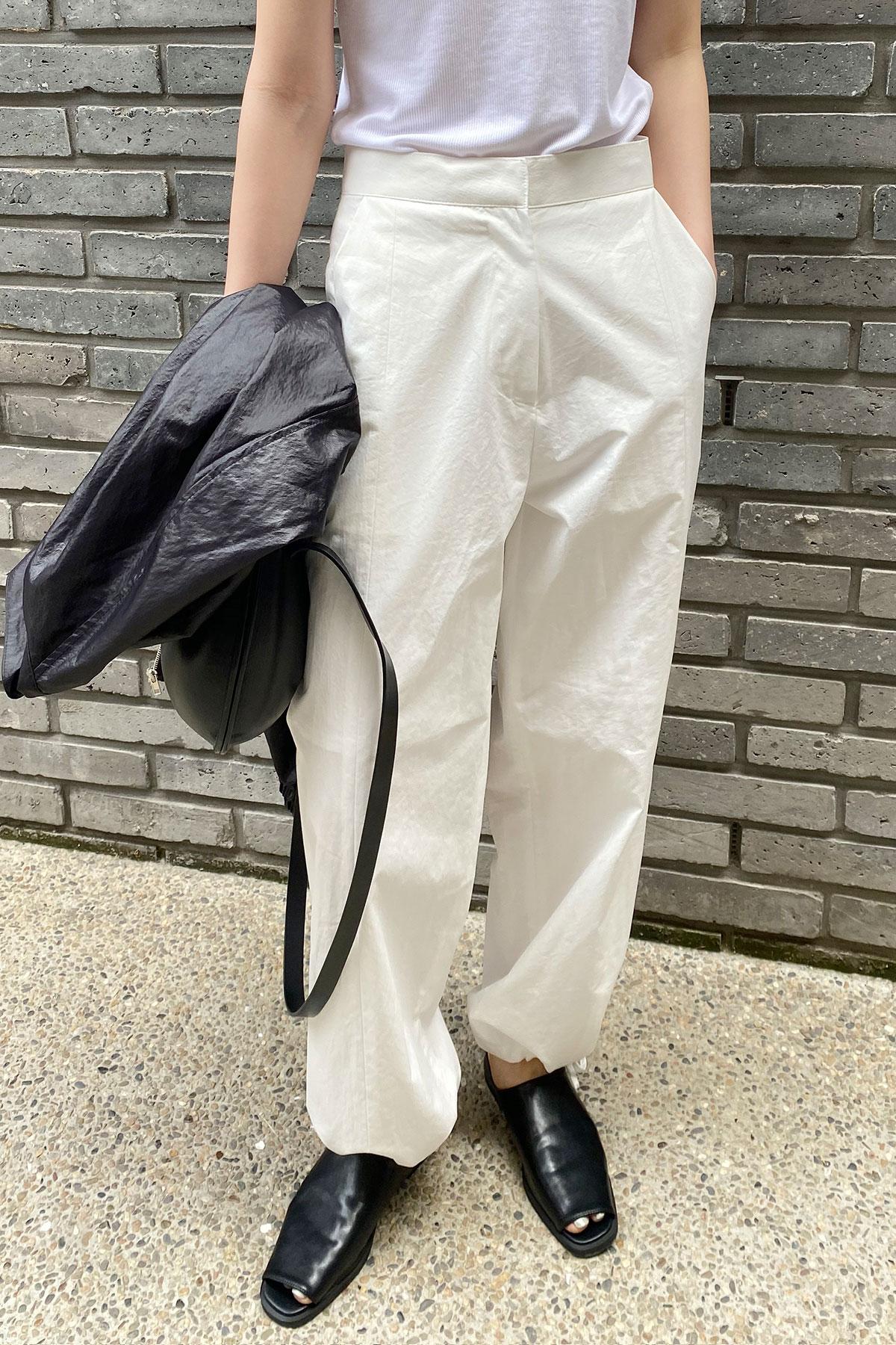 STRING PANTS (WHITE M SIZE)