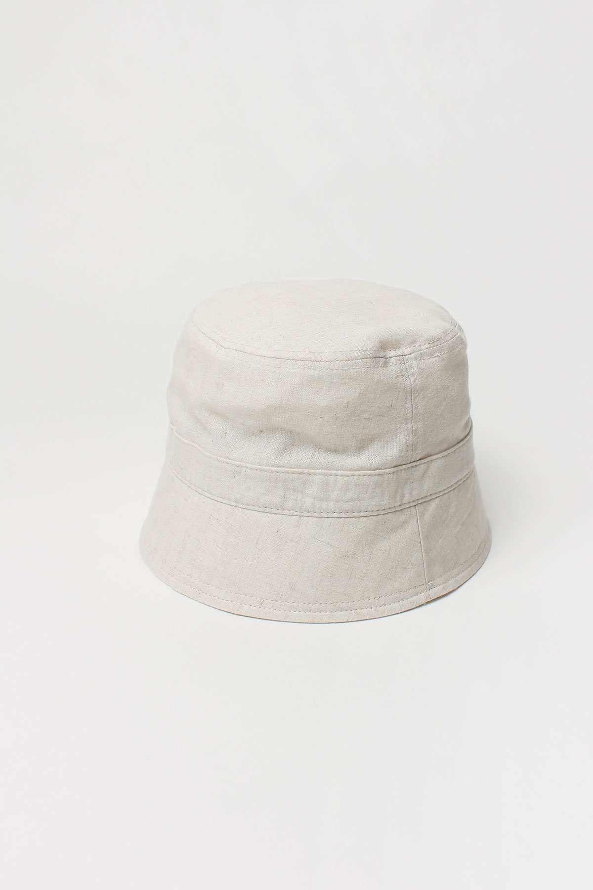 LINEN BUCKET HAT (CREAM,BEIGE,BLUE,BLACK)