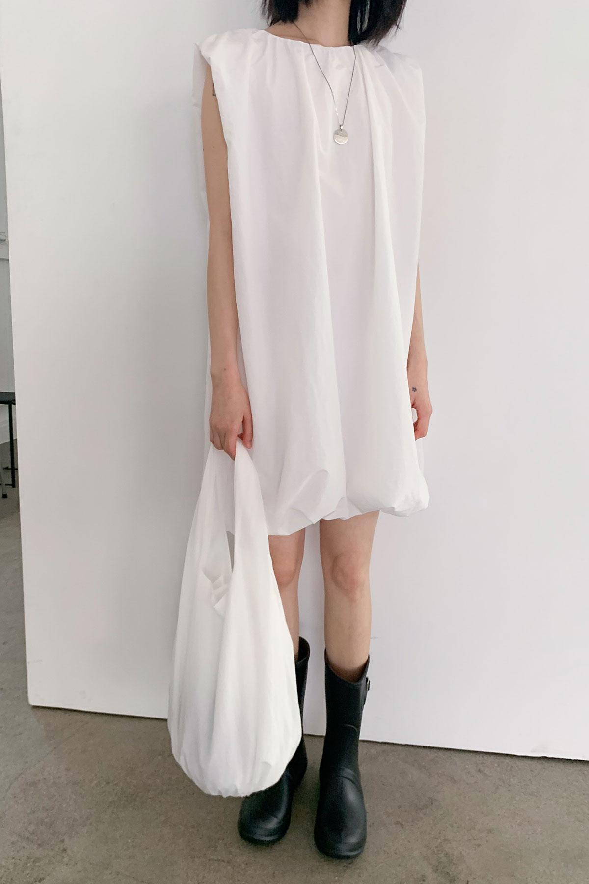 PUMPKIN DRESS (WHITE,BLACK)
