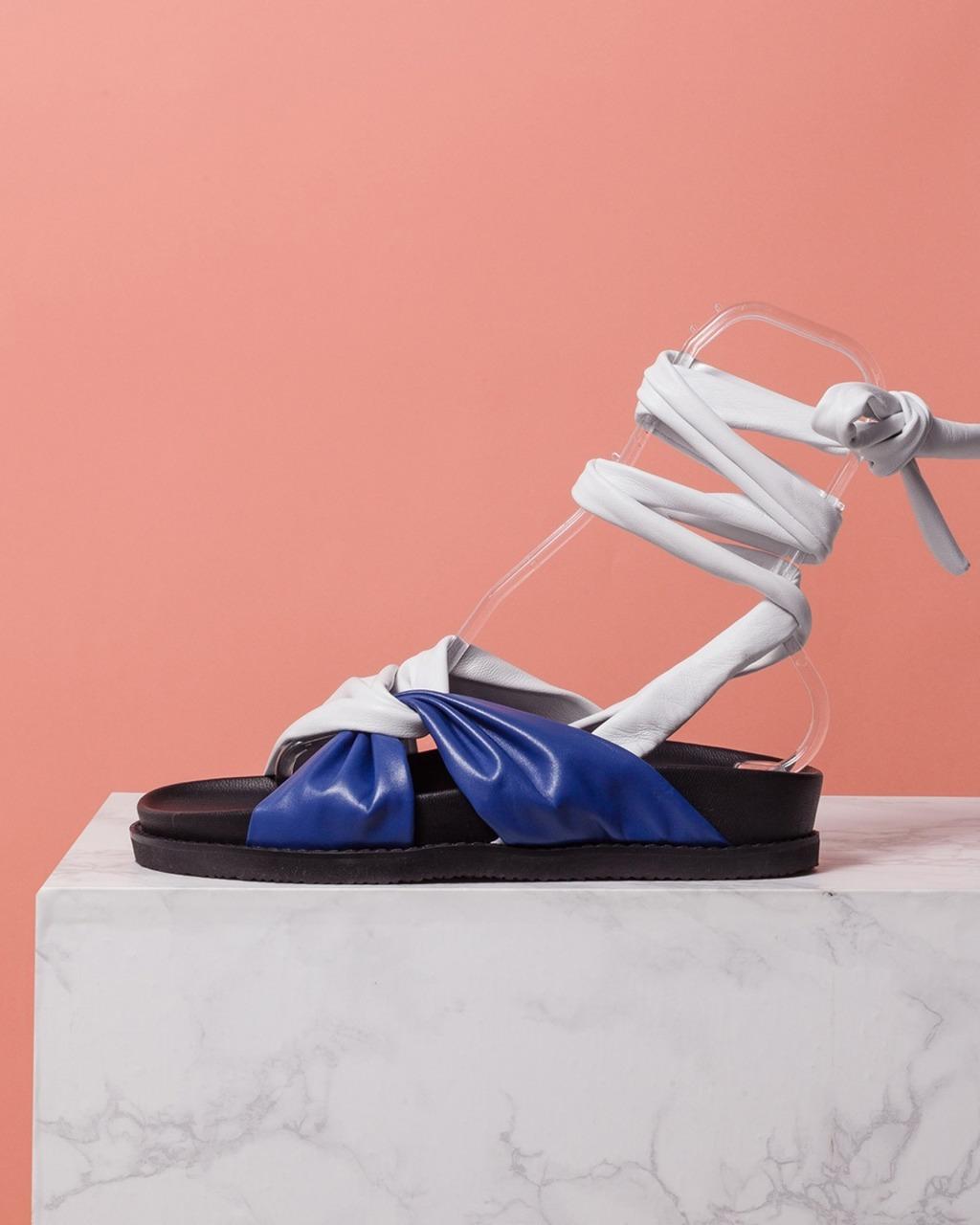 DORATORE Fiori Blue - Women's Shoes : Republic of Korea