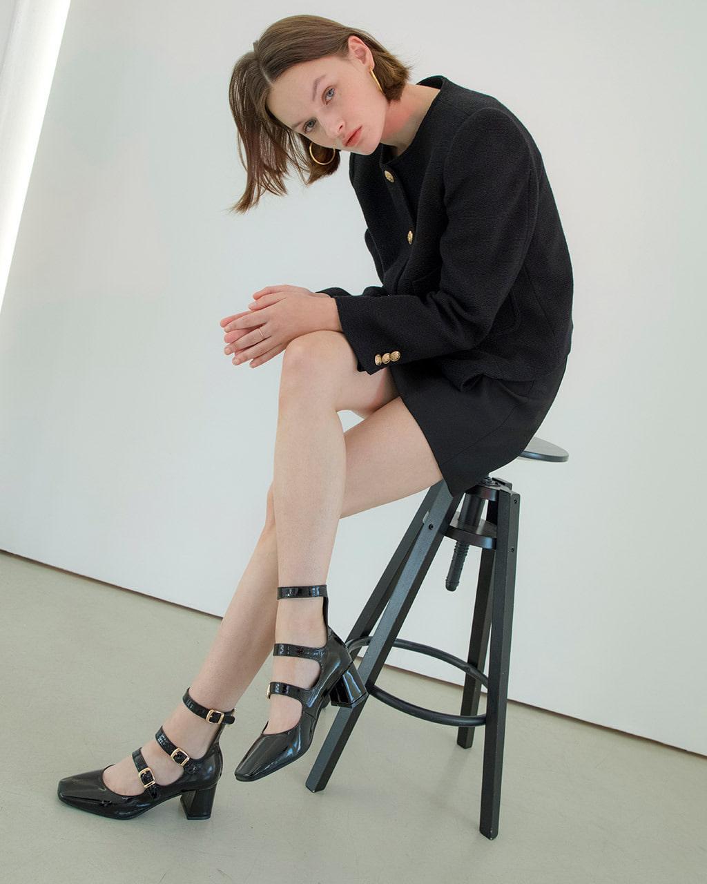 ddtt Hart DT-S2101 Black - Women's Shoes : China
