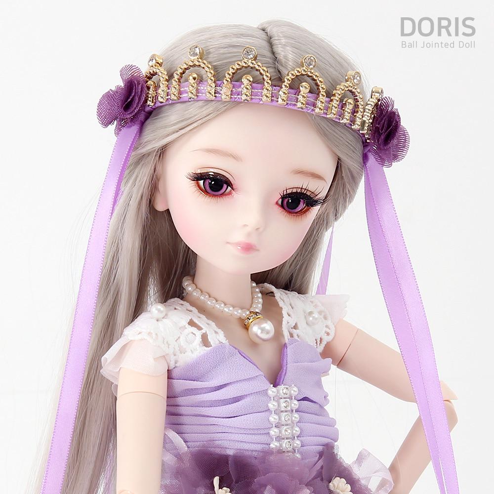 도리스돌 45cm 드레스 - 레오나