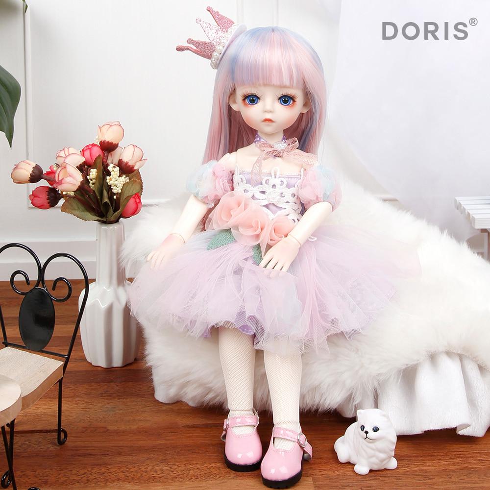 도리스돌 30cm 드레스 - 프린