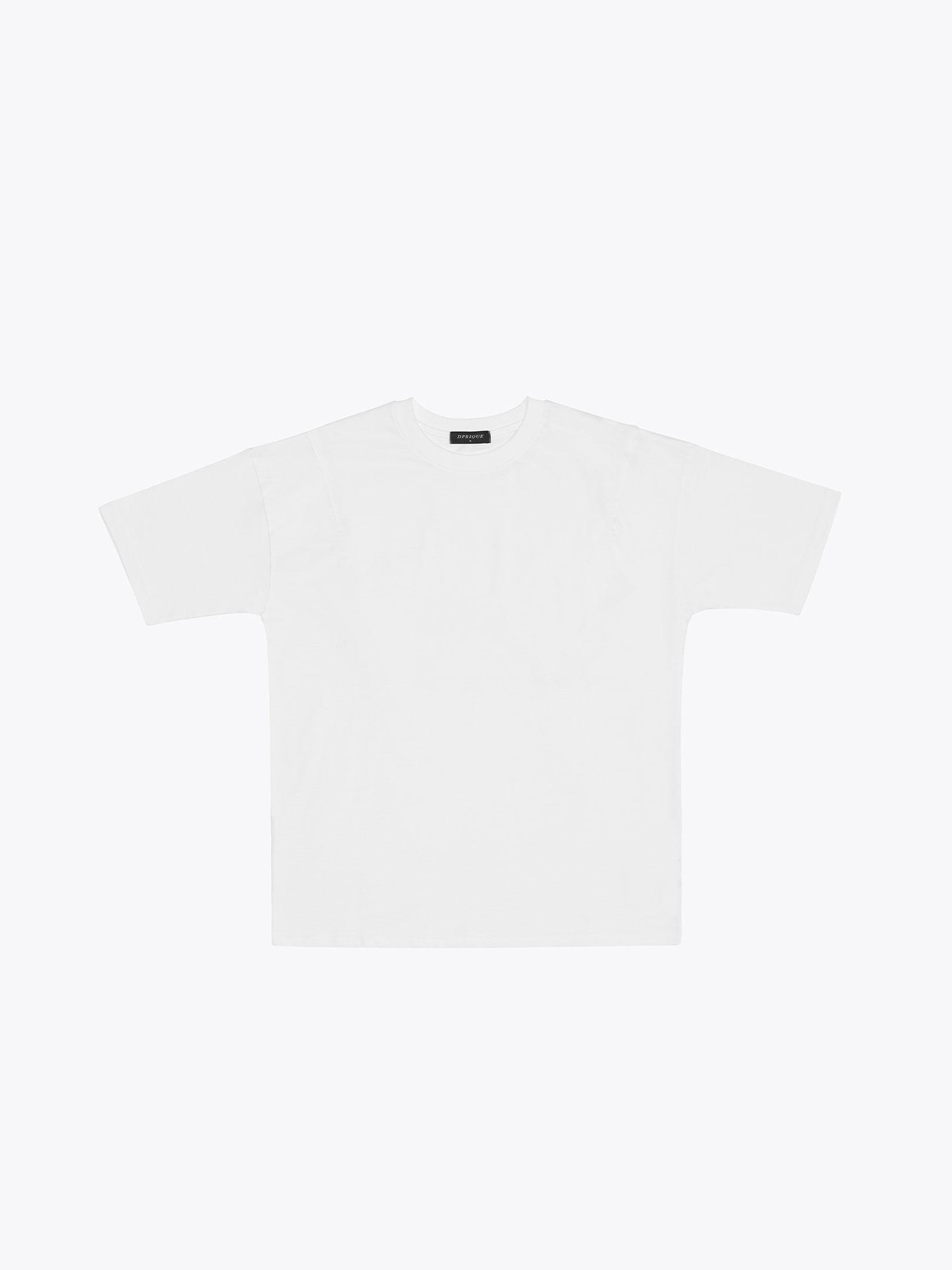 Oversized Basic T-Shirt - White