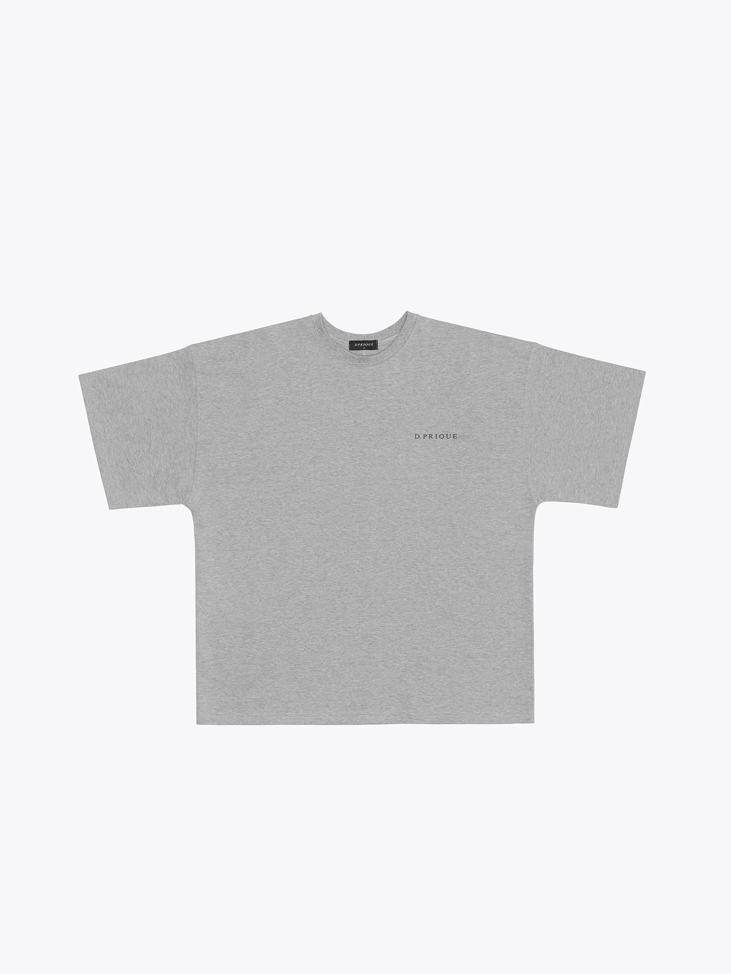 Oversized Logo T-Shirt - Grey