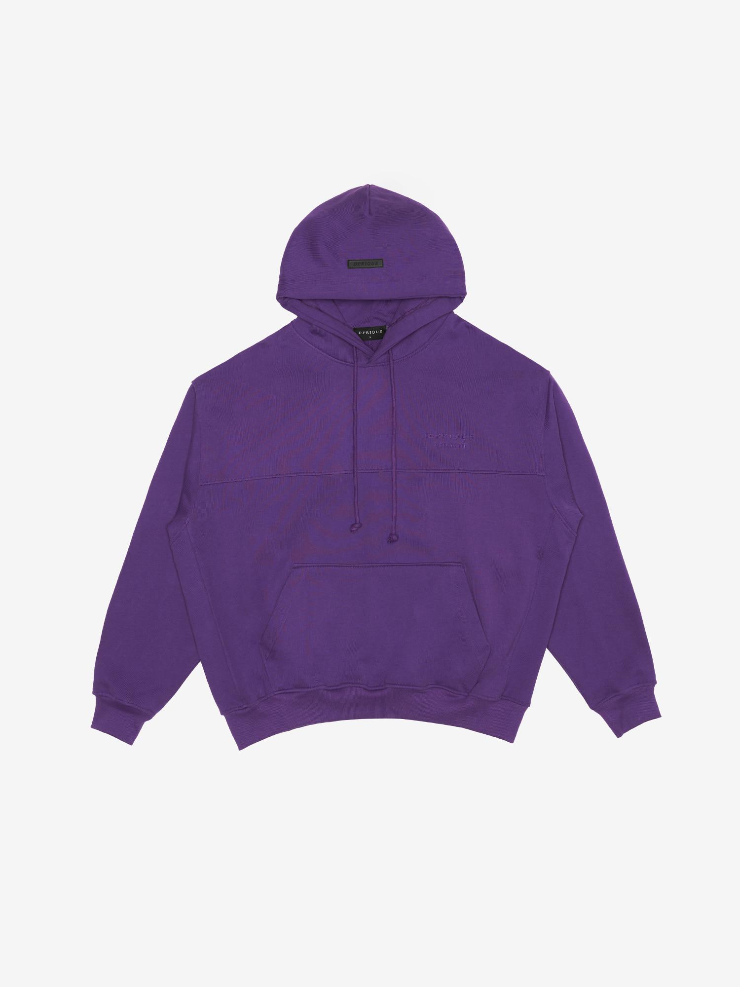 06 Oversized Hoodie - Purple