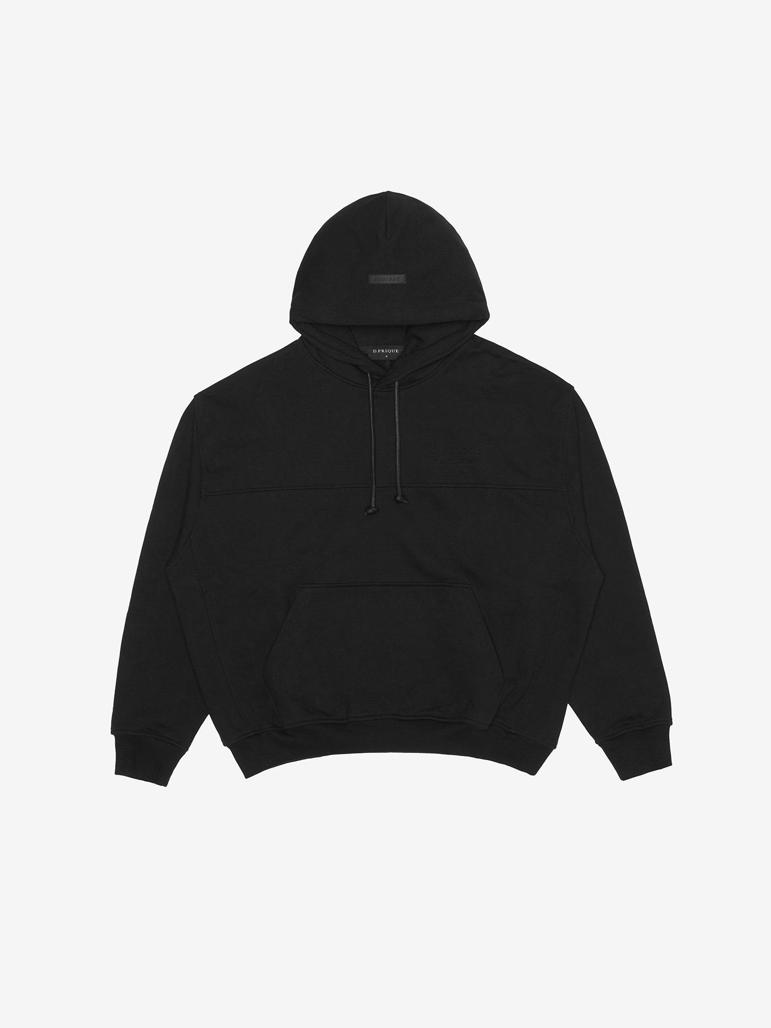 06 Oversized Hoodie- Black