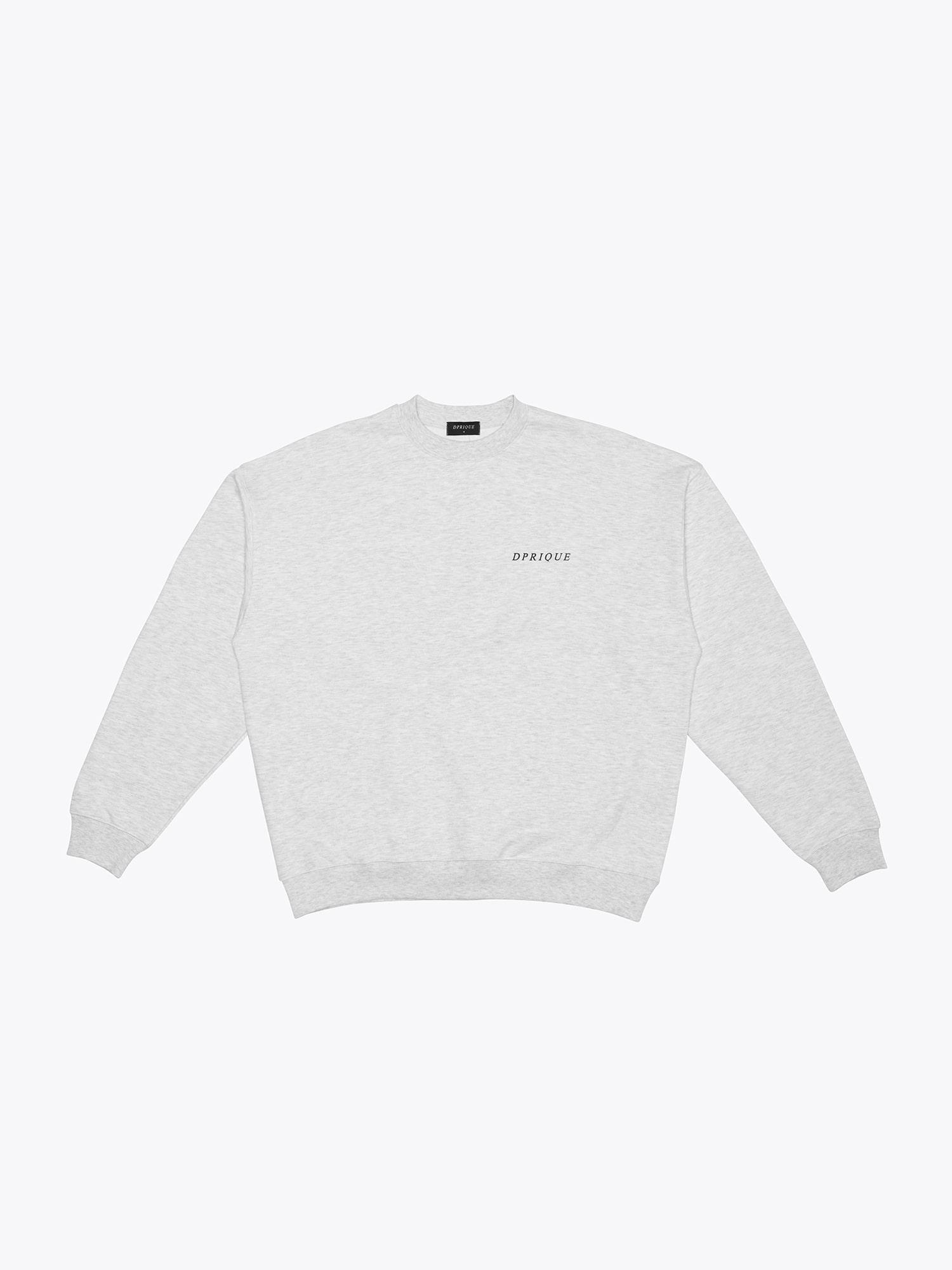 Logo Sweatshirt - L.Grey
