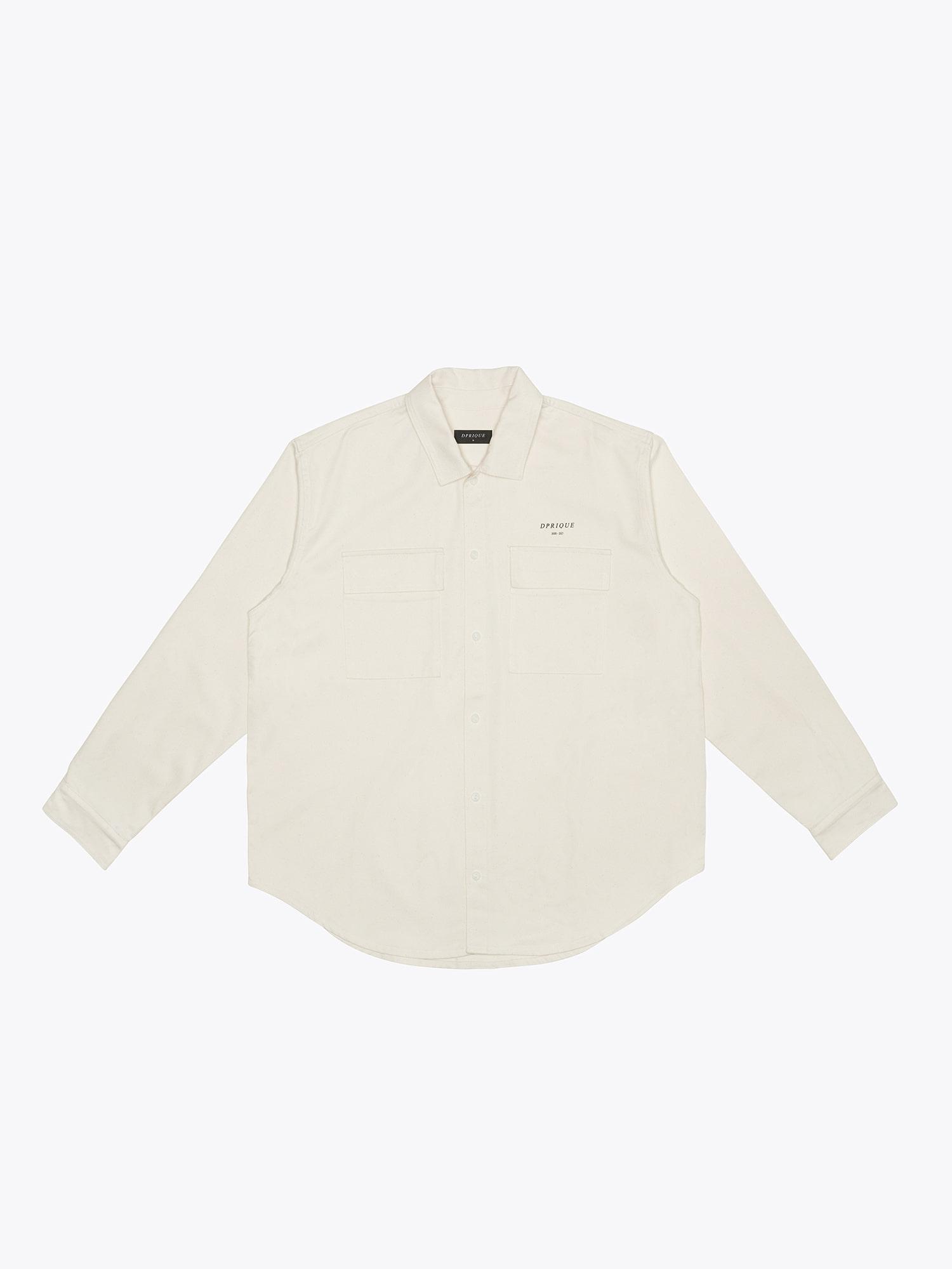 Oversized Shirt - Ivory