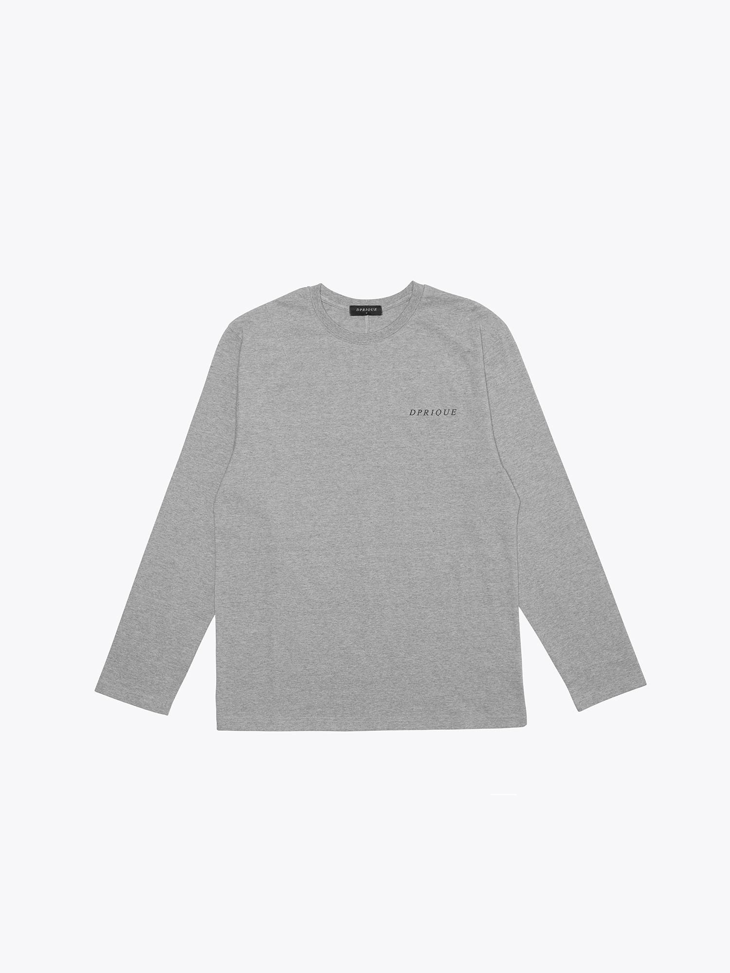 Long Sleeve T-Shirt- Grey