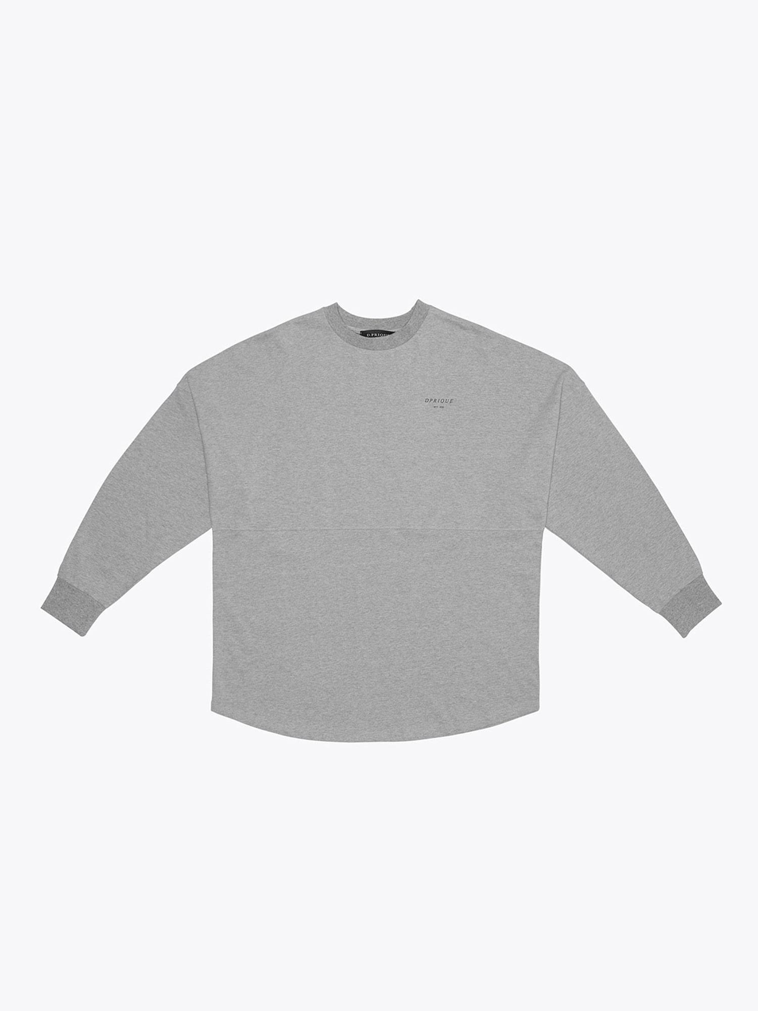 Crew Neck T-Shirt- Grey