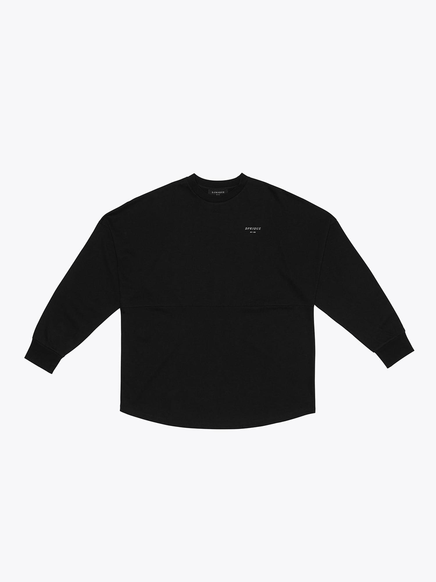 Crew Neck T-Shirt - Black