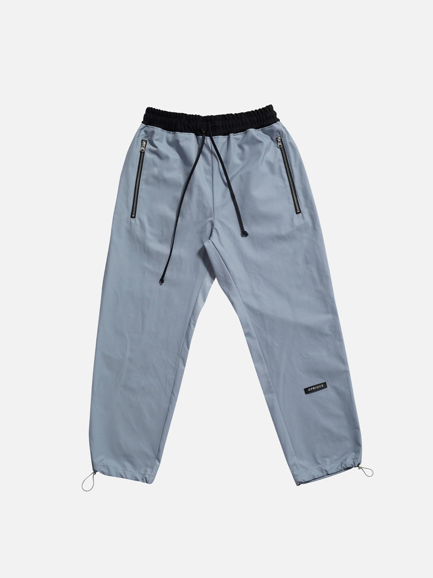 07 String Jogger Pants - Blue
