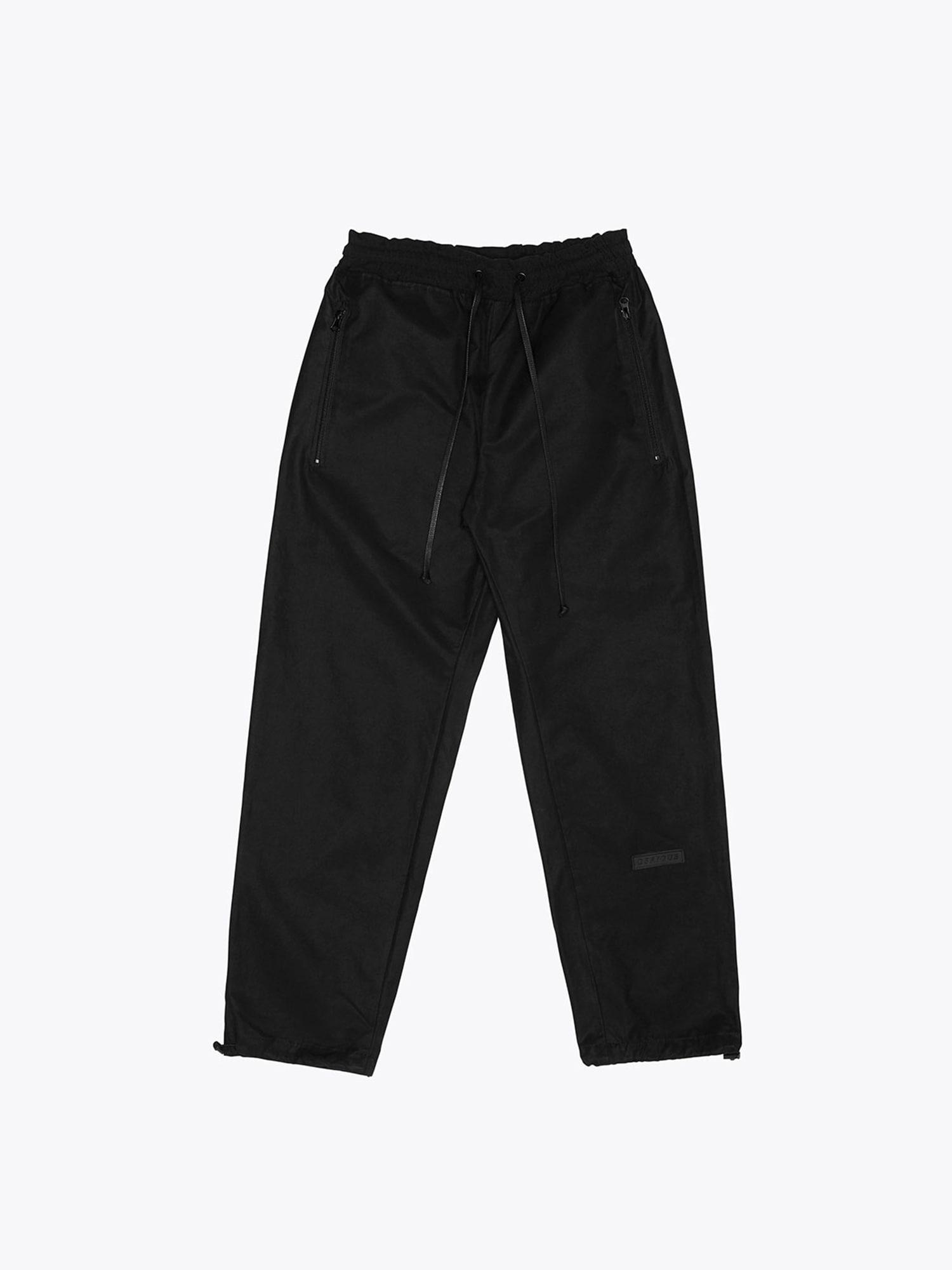 08 Cotton Track Pants - Black