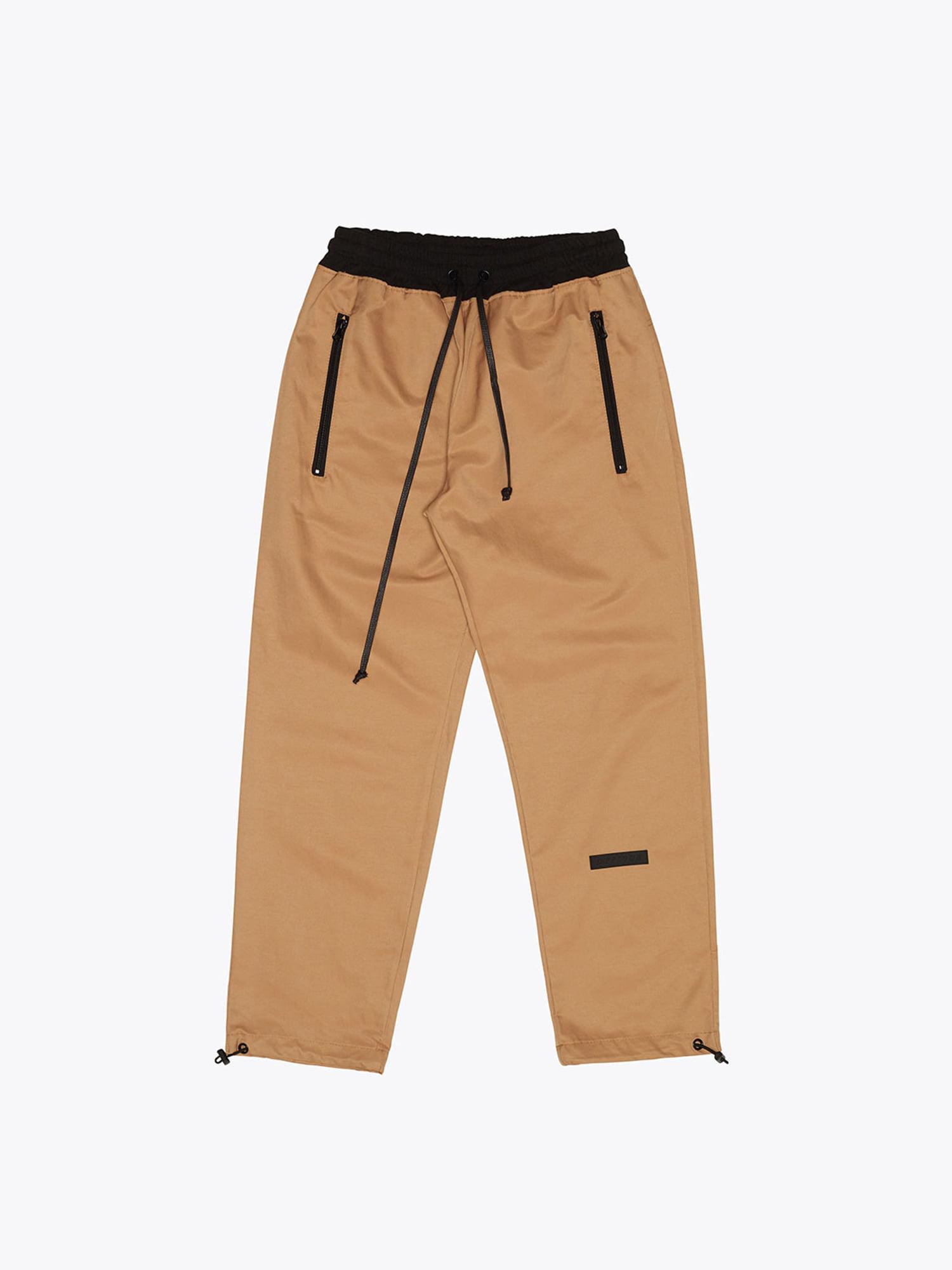 08 Cotton Track Pants - Beige