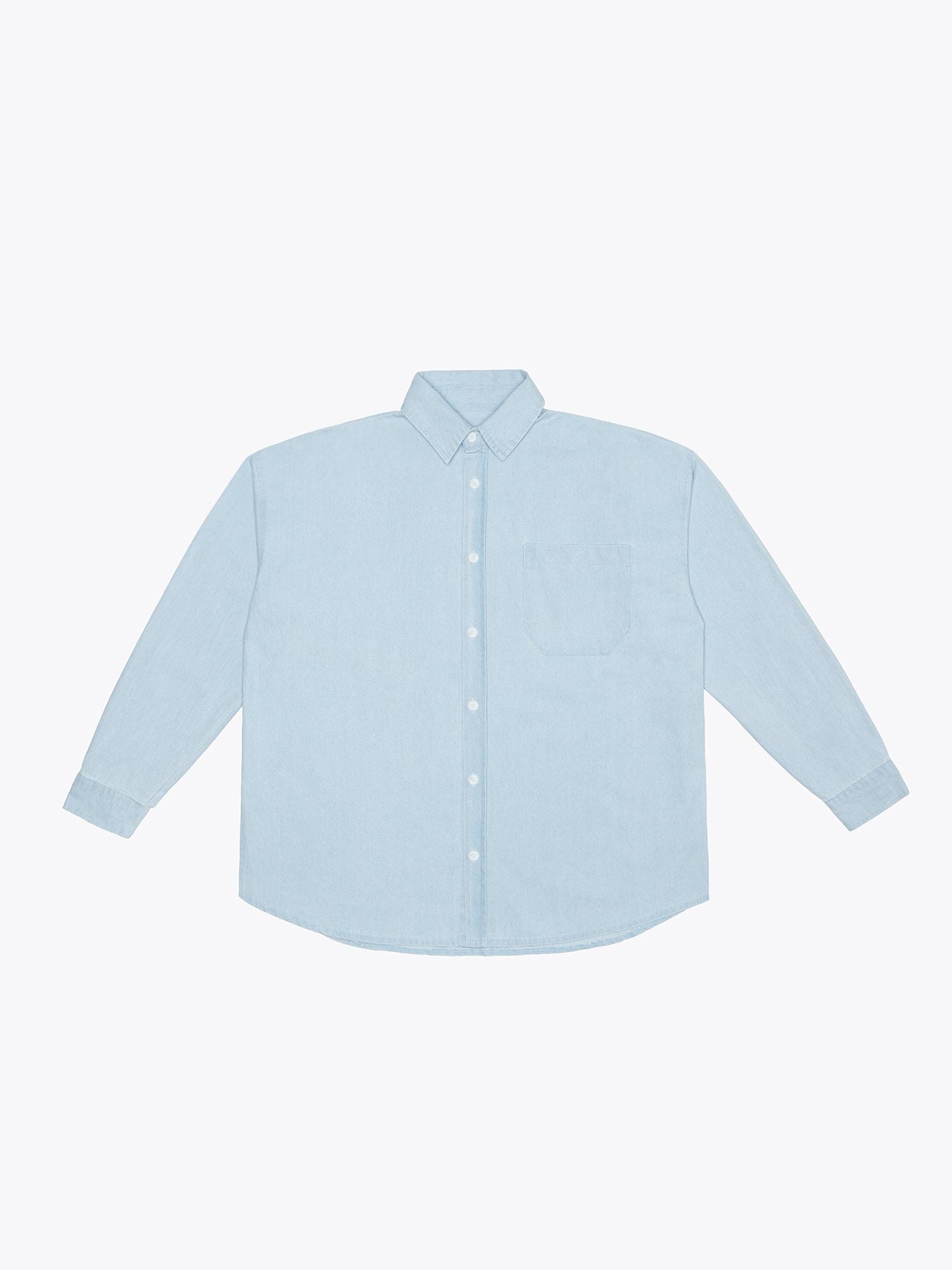 07 Denim Shirt - Blue