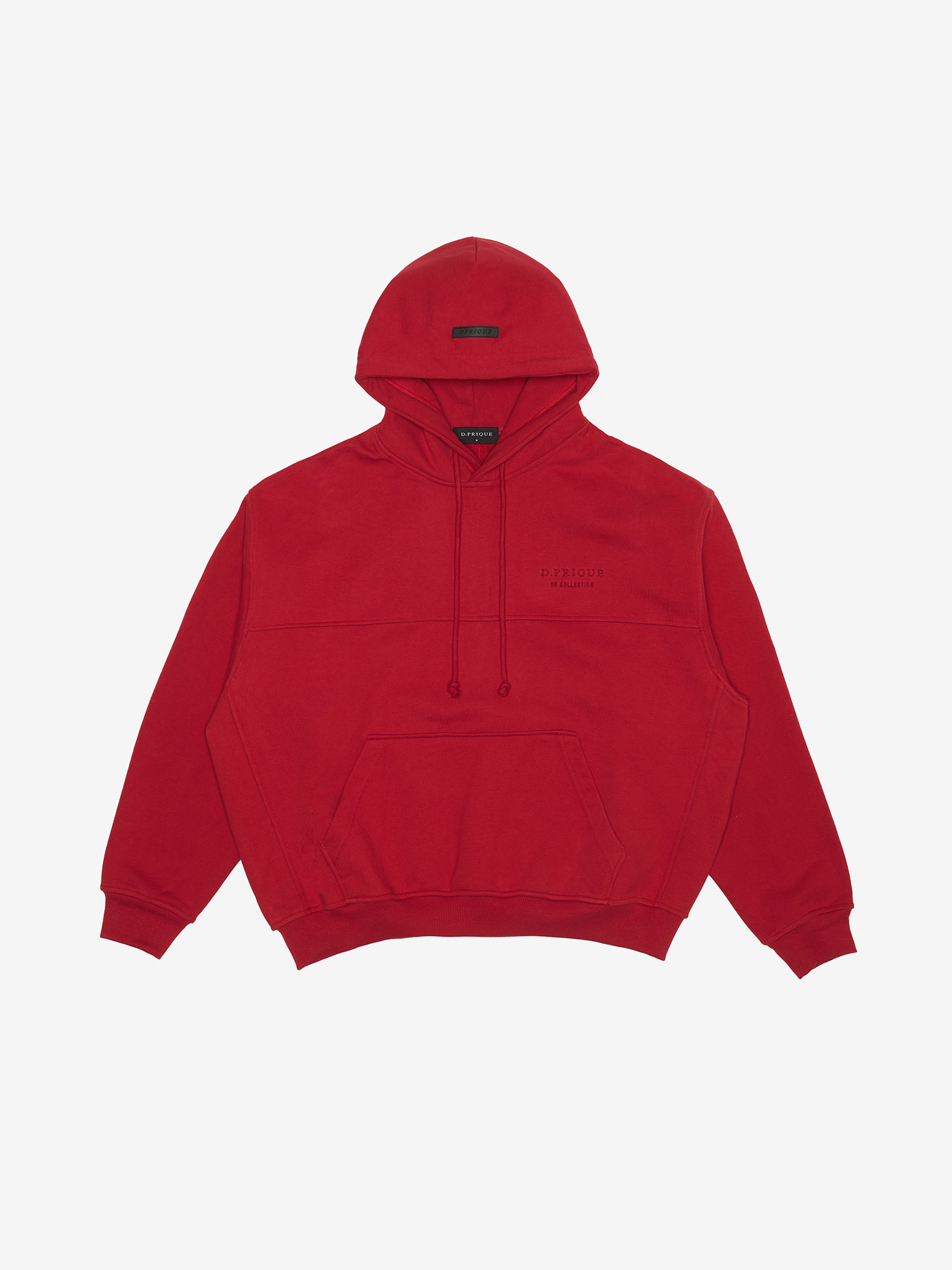 06 Oversized Hoodie - Red