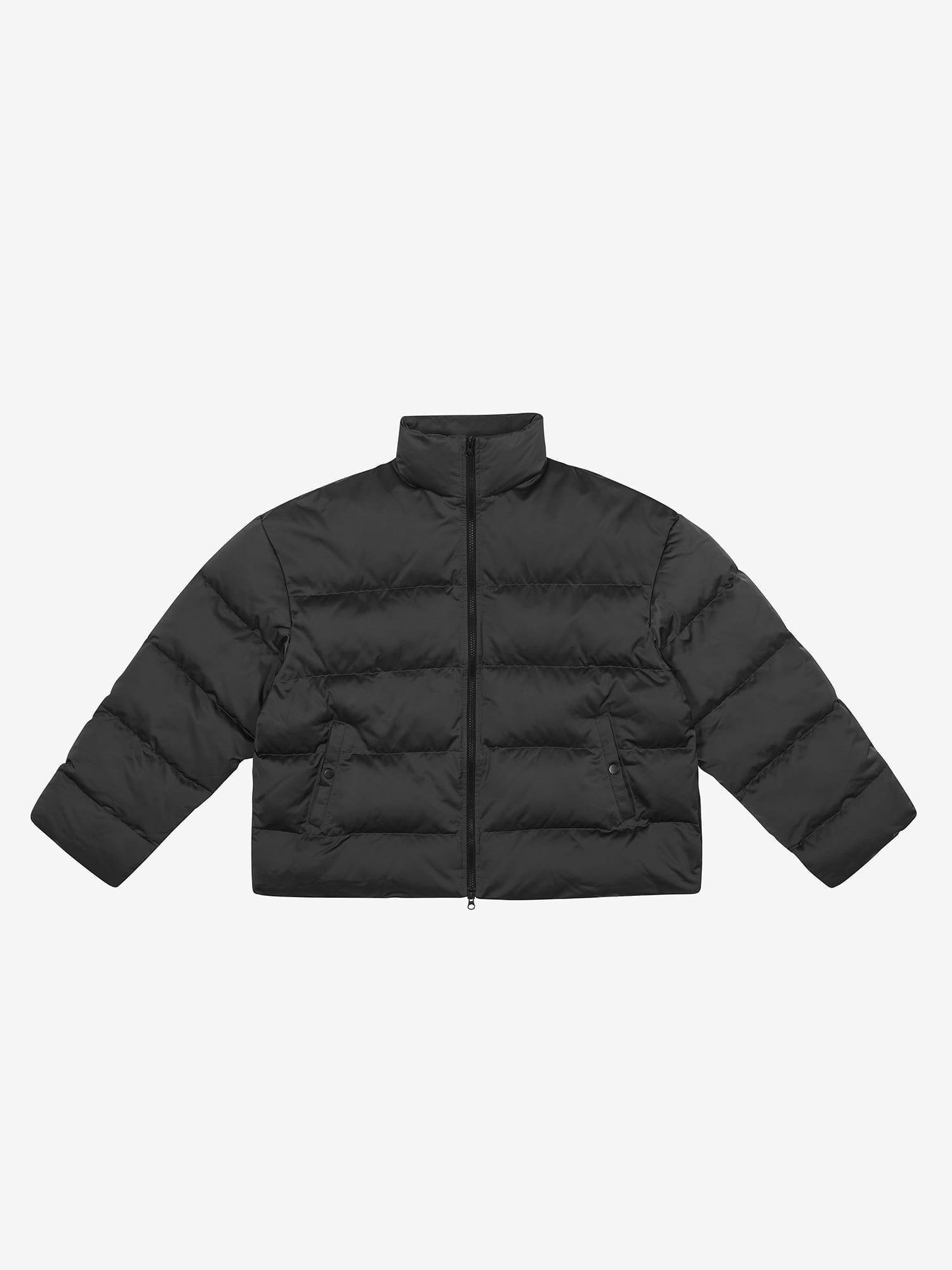 Oversized Padded Jacket - Charcoal