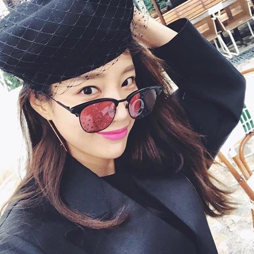 래쉬 BLUEMOON BK01 블랙 하금테 연예인 선글라스