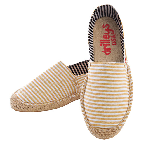 Autumn Tan Stripe Espadrille