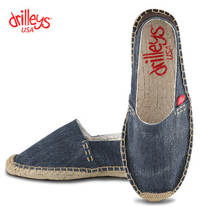D1 Wash Blue Espadrille