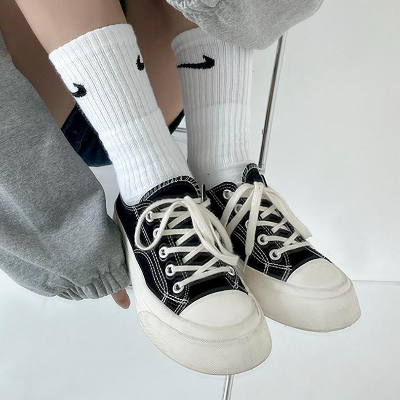 [4cm굽] 키높이 데일리 컨버스 스니커즈
