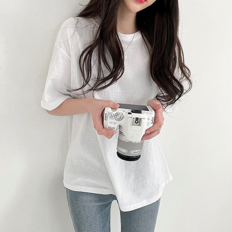 [1+1]이게 바로 심플 베이직,[3color] 프리 반팔 티셔츠
