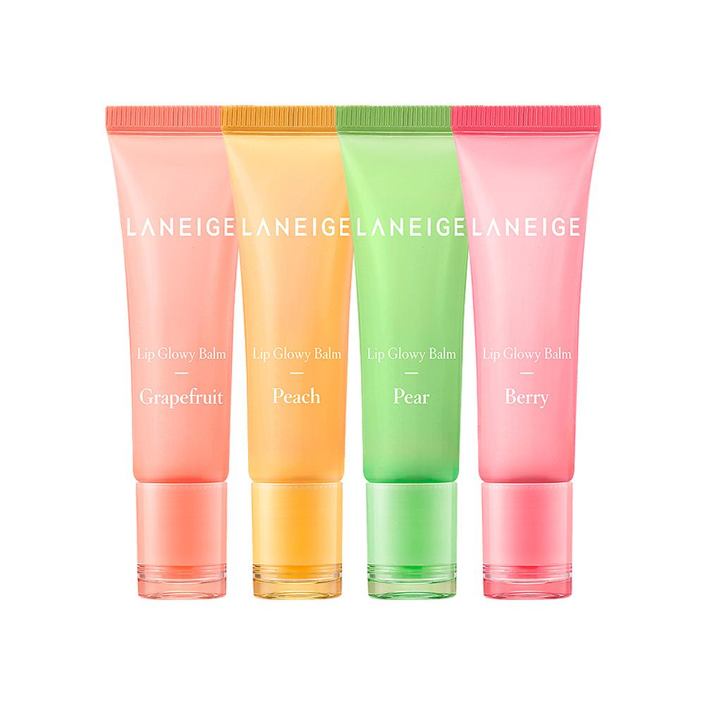 LANEIGE Lip Glowy Balm 10g 1+1 2pcs (4 type)