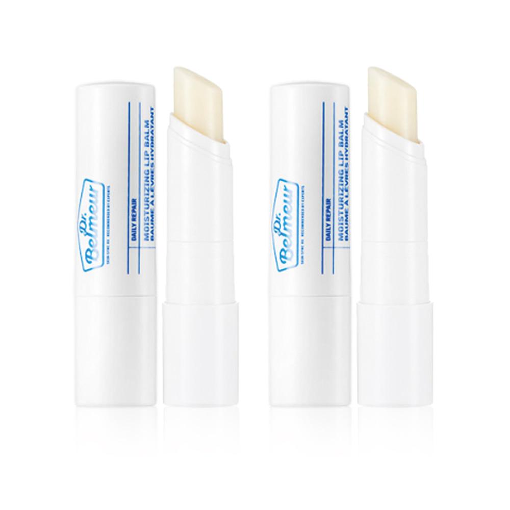 THE FACE SHOP Dr.Belmeur Daily Repair Moisturizing Lip Balm 4g 1+1 2pcs