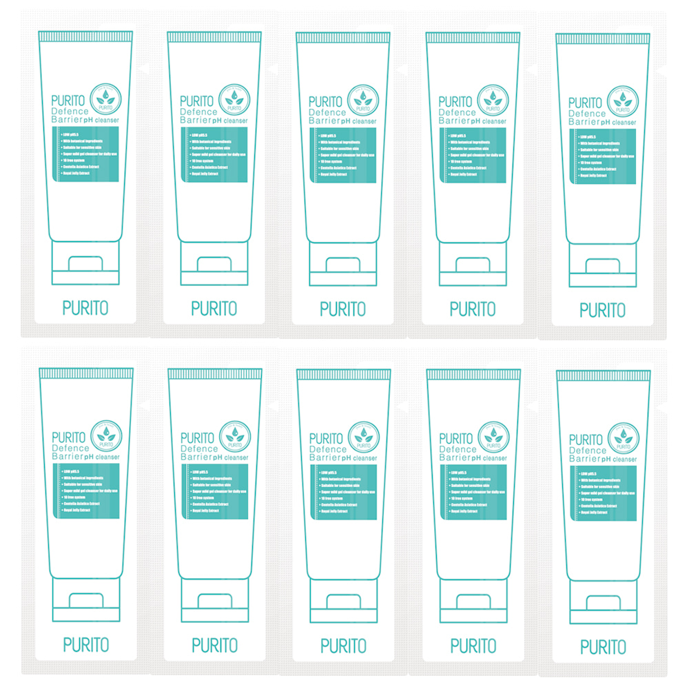 PURITO Defence Barrier Ph Cleanser sample 10pcs