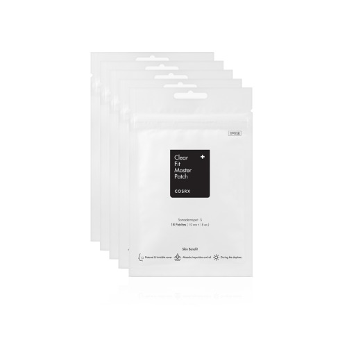 COSRX Clear Fit Master Patches(18 Patches) 5 Sheets