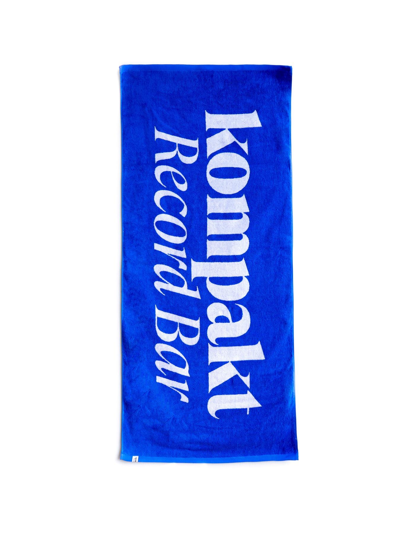 KRB Logo Beach Towel - Blue
