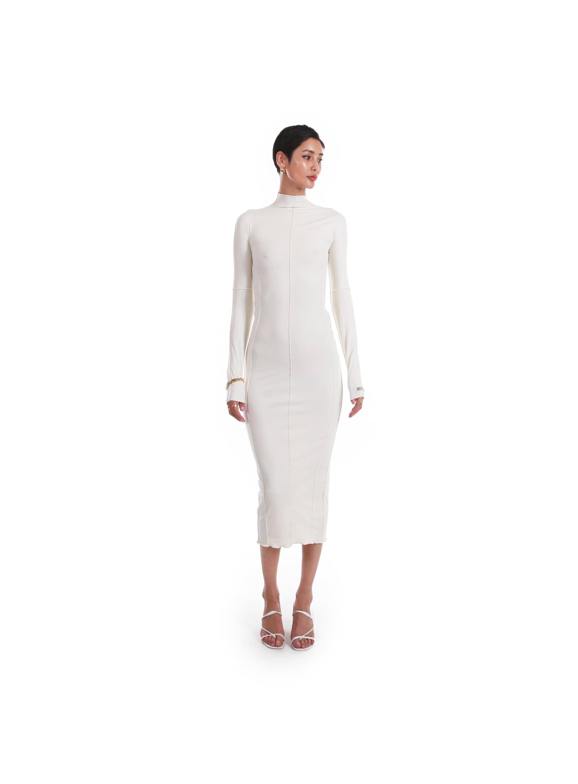 킴예 드레스 - 바닐라