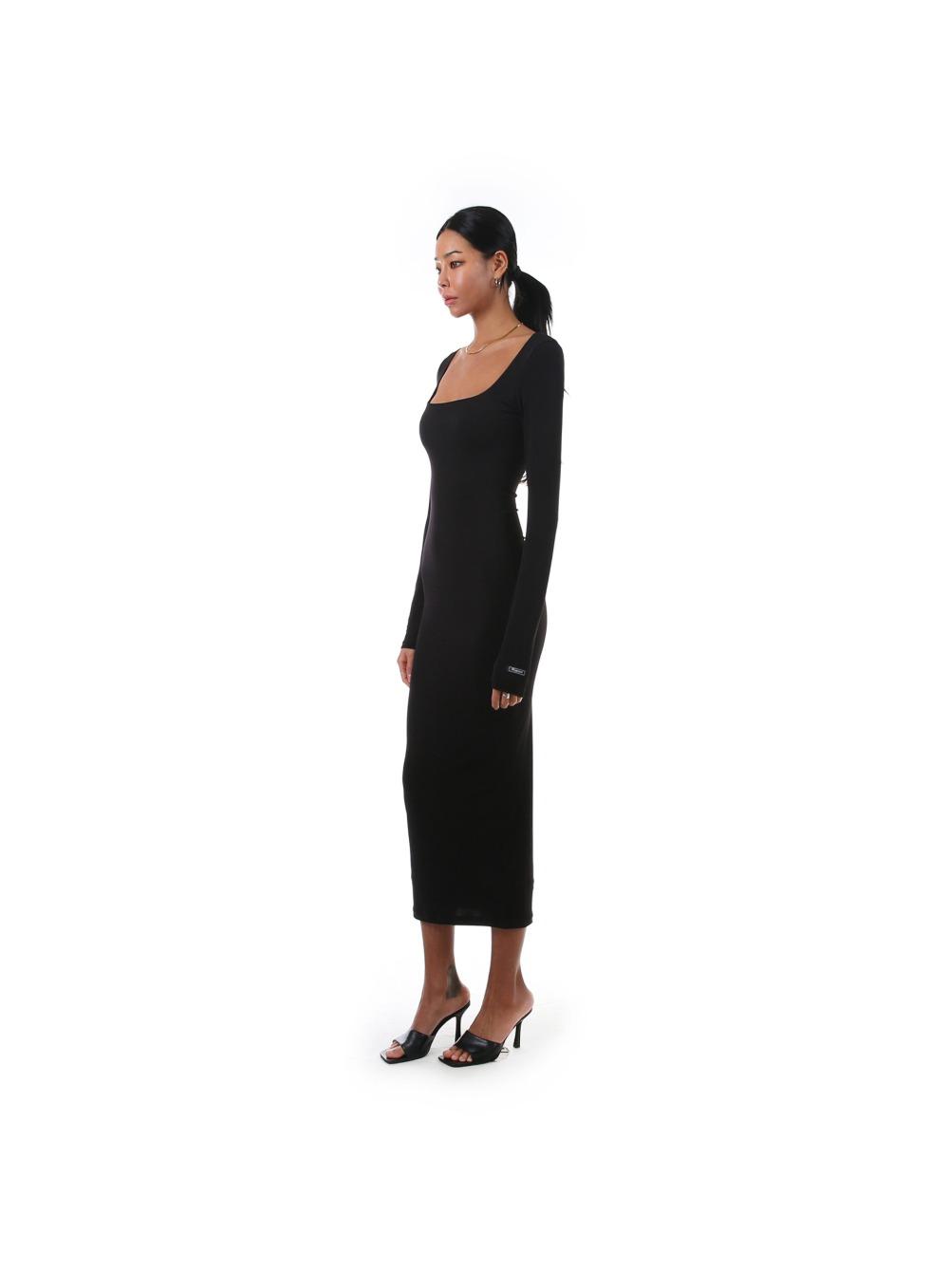 에고 스퀘어넥 드레스