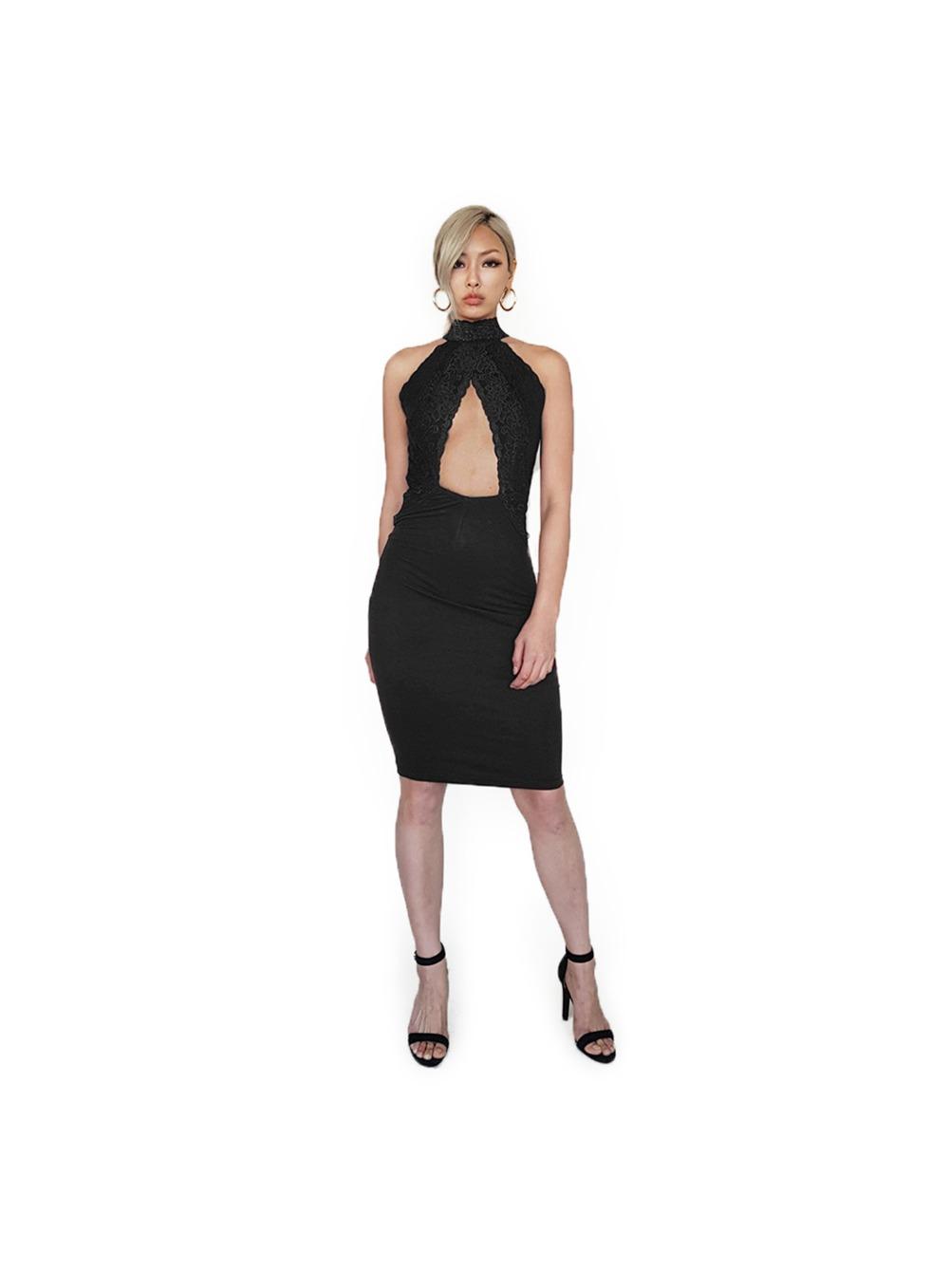 ROSALIA HALTER NECK DRESS 로살리아 홀터넥 드레스