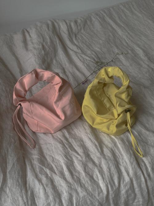 MIRA JORI MINI HAND BAG(IVORY, YELLOW, PINK, SKYBLUE, PURPLE, BLACK 6COLORS!)