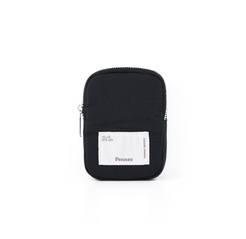 FABRIC SLING BAG POCKET - BLACK
