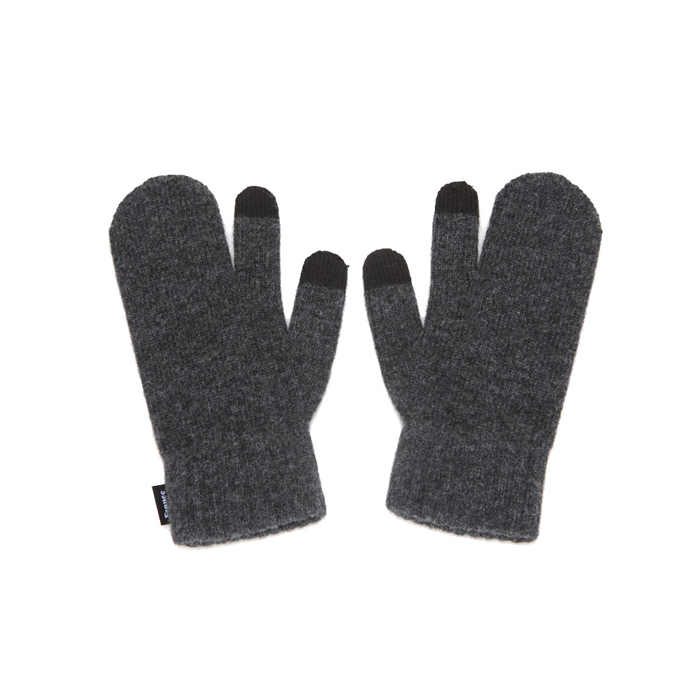 [DISCONTINUE] KNIT TIMI GLOVES_ver.3 - CHARCOAL