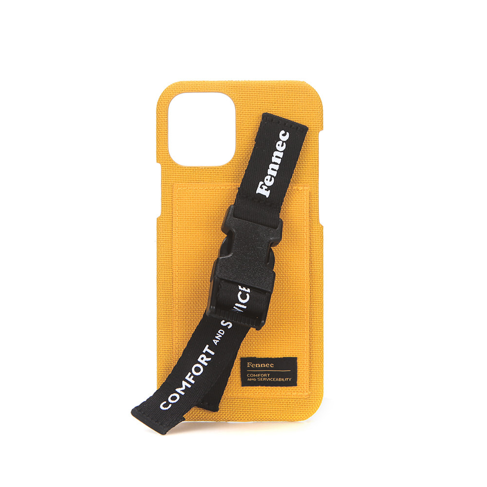 [21SS] C&S IPHONE 11 PRO HANDLE STRAP CASE - YELLOW